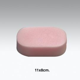 Spugna sintetica per doccia da 11x8cm.