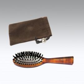 Sacchetto + spazzola borsetta riccio misto Tartaruga