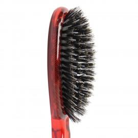 Spazzola pneumatica ovale rossa